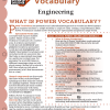 Power Vocabulary for Kids Discover Engineering