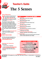 5 senses  kids discover