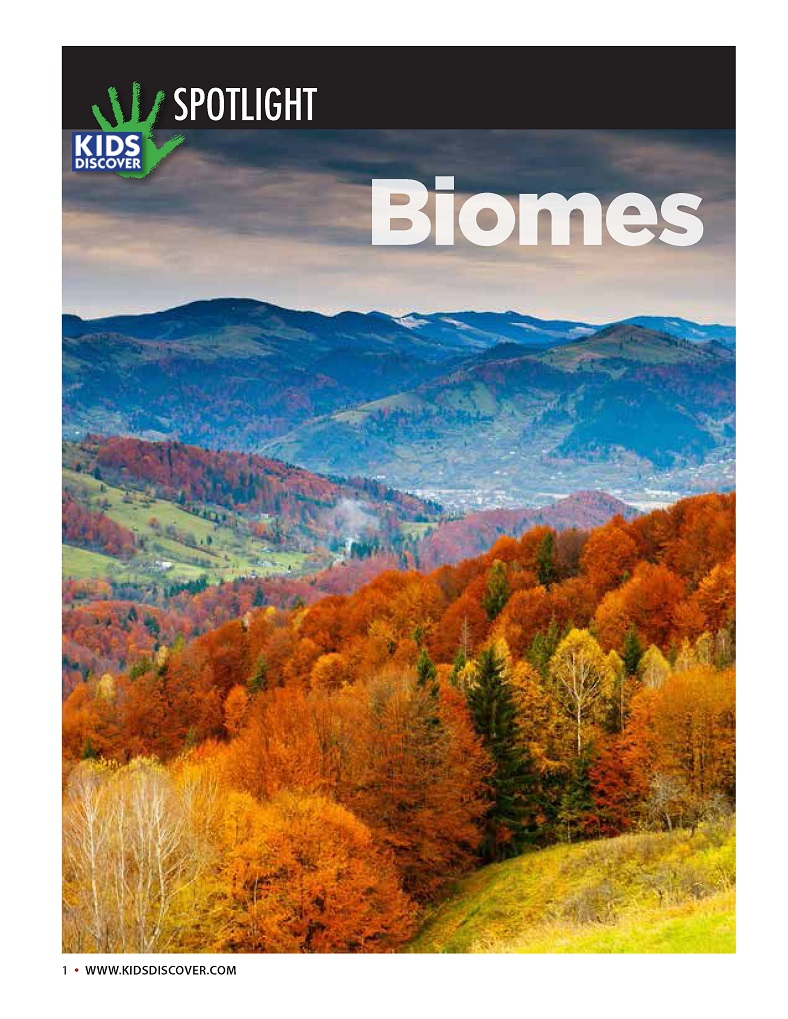 Infopacket: Biomes - Kids Discover
