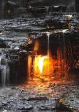 "How Natural Gas Creates ""Eternal Flames"""