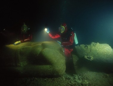 Sunken Egyptian City Thonis Found After More Than a Millennium
