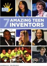 InfoPacket: 7 Amazing Teen Inventors