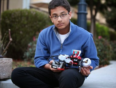 Tween Invents Braille Printer Using Lego(R) Bricks