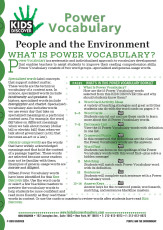 KD2: People and the Environment
