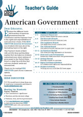 This 12-page Teacher Guide on American Government is filled with activity ideas and blackline masters that can help your students understand more about systems of government in the United States. Select or adapt the activities that suit your students' needs and interests best.