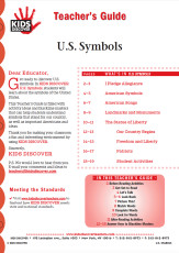 This Teacher's Guide on KD1 U.S. Symbols is filled with activity ideas and blackline masters that can help students understand symbols that stand for our country, as well as important Americans and ideas.