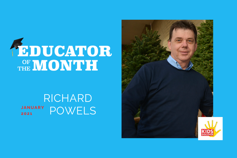 Educator of the Month: Richard Powels