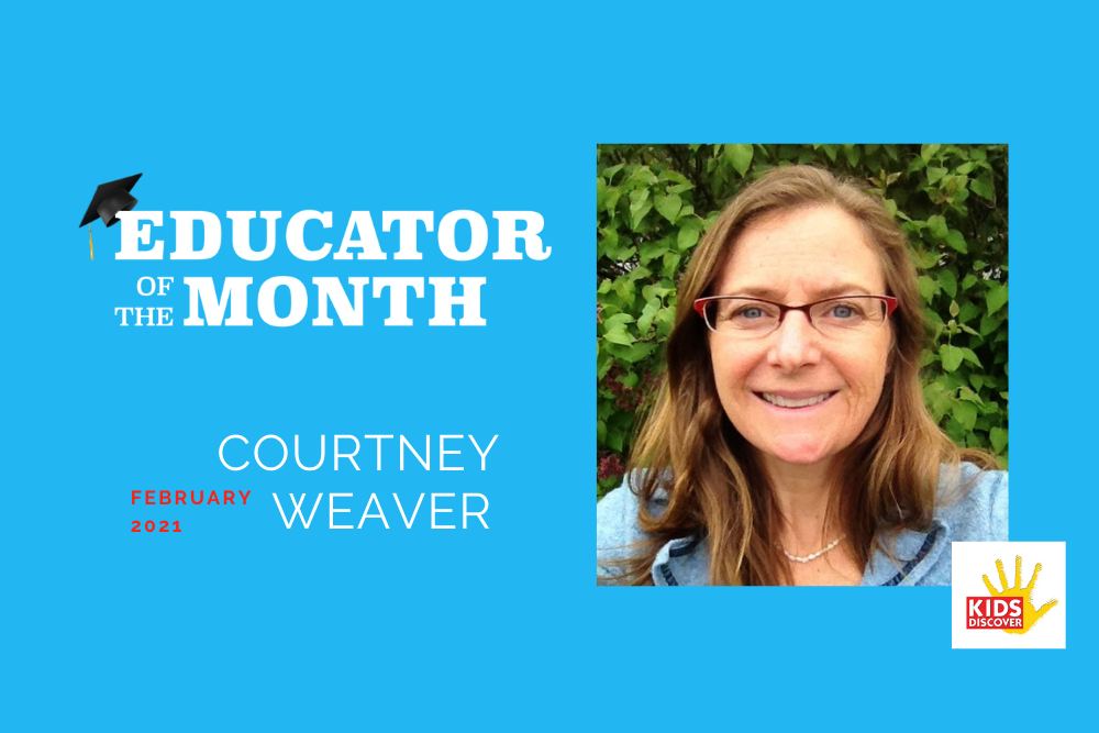 Educator of the Month: Courtney Weaver